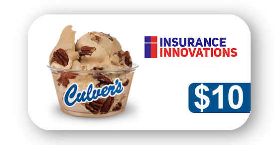 Culvers $10 Gift Card